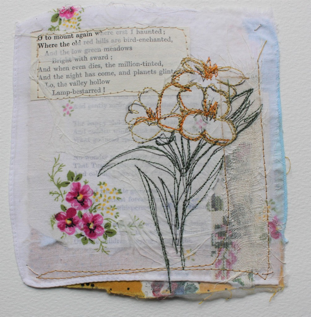 Wild Wallflower (sold)